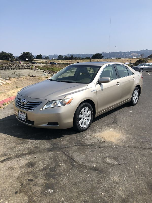 2007 Toyota Camry Hybrid Xle Clean Le Smogged Low Miles Navigation Loaded For In Oakland Ca Offerup