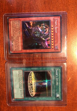 Yugioh Cards Dark Sage & Thousand Eyes Restrict for Sale in Herndon, VA