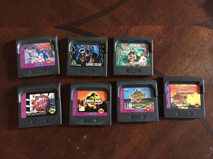 Game Gear games for Sale in Charlotte, NC