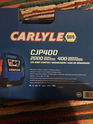 12v 2000 amp jump starter for Sale in Silver Spring, MD