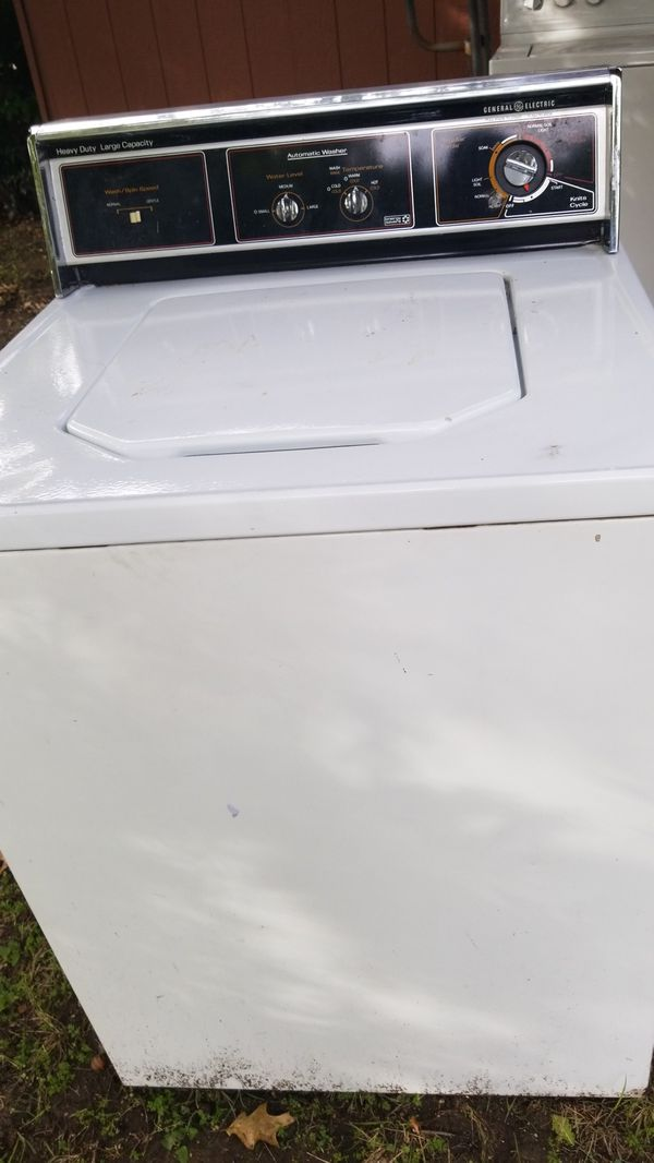 Old Ge Washer Work For In Duncanville Tx Offerup
