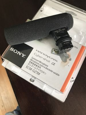 High Quality Sony Mirrorless Camera Mic. Crystal clear audio. for Sale in St. Louis, MO