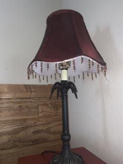 Lamp and table Thumbnail