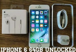 Silver Iphone 6 UNLOCKED 64GB w/ Accessories for Sale in VA, US