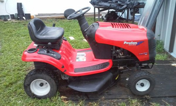 Poulan Xt Riding Mower For Mint