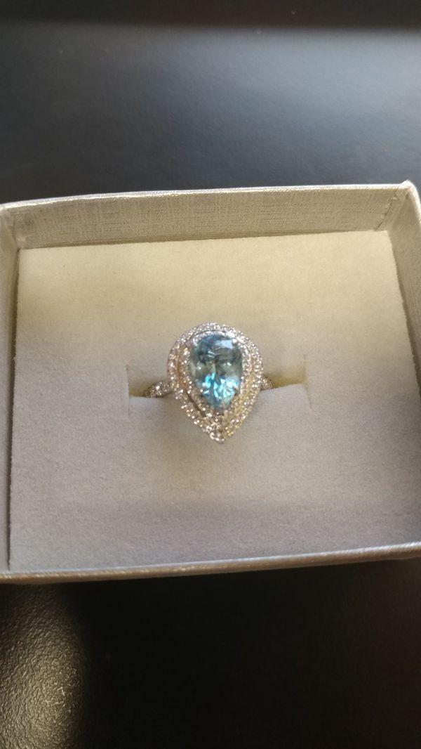 c84dff5fc Tiffany Soleste Aquamarine and Diamond for Sale in Reno, NV - OfferUp