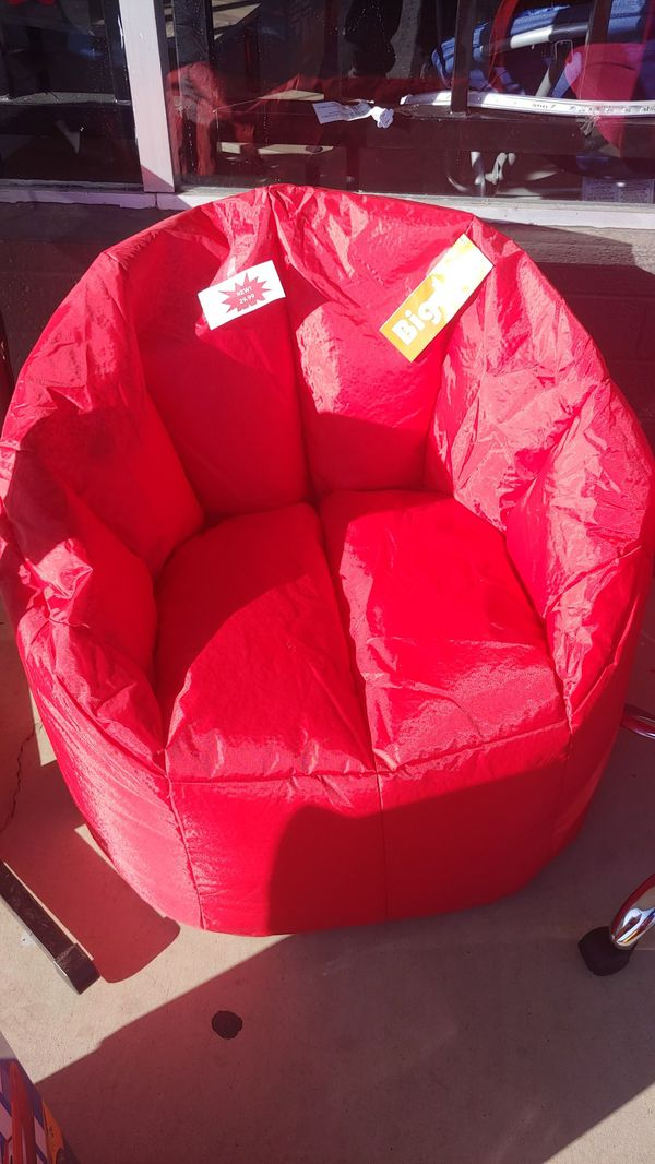 Awesome Big Joe Red Bean Bag Chair Large For Sale In Phoenix Az Cjindustries Chair Design For Home Cjindustriesco