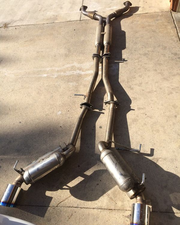 HKS catback exhaust 350z/g35 for Sale in Fontana, CA - OfferUp