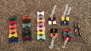 Boutique Felt Nylon Baby Child Headband Bows for sale  Owasso, OK