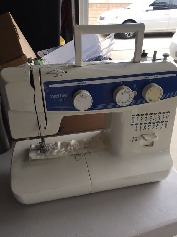 Brother XL40 Sewing Machine For Sale In Ontario CA OfferUp Awesome Brother Sewing Machine Model Xl 5232
