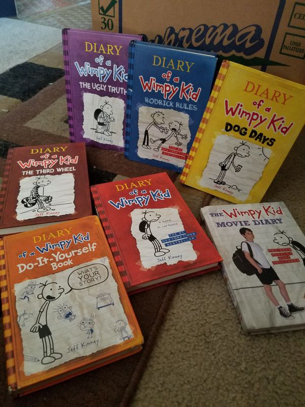 Hard back diary of a wimpy kid collection for sale in los angeles hard back diary of a wimpy kid collection for sale in los angeles ca offerup solutioingenieria Choice Image
