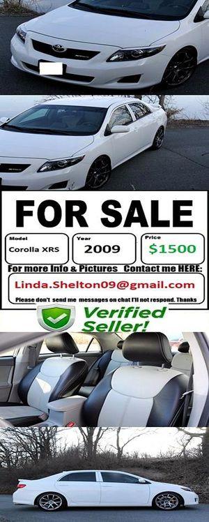 CLEAN2OO9 Toyota CorollaXRS Greatshape for Sale in Seattle, WA