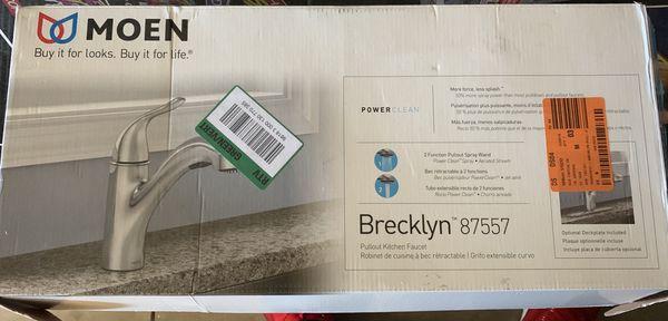 Moen Brecklyn 87557 Kitchen Faucet For Sale In Gilbert Az Offerup
