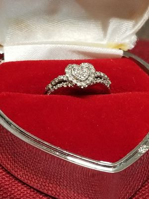 White Gold ring with daimond for Sale in Springfield, VA