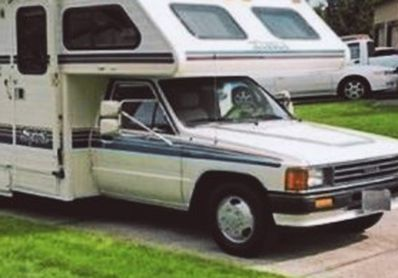 Photo 1989 Toyota Spirit 19 Foot MicroMini RV
