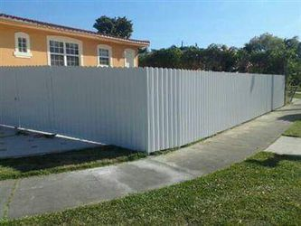 Aluminium fence Thumbnail