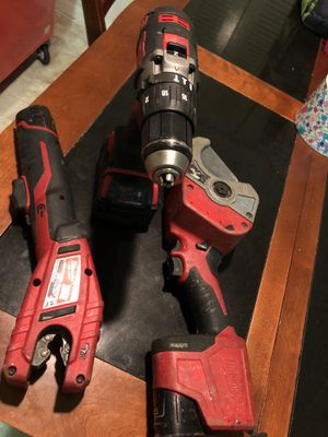 Milwaukee power tools , hammer drill, pvc cutter , copper cutter for Sale in FL, US
