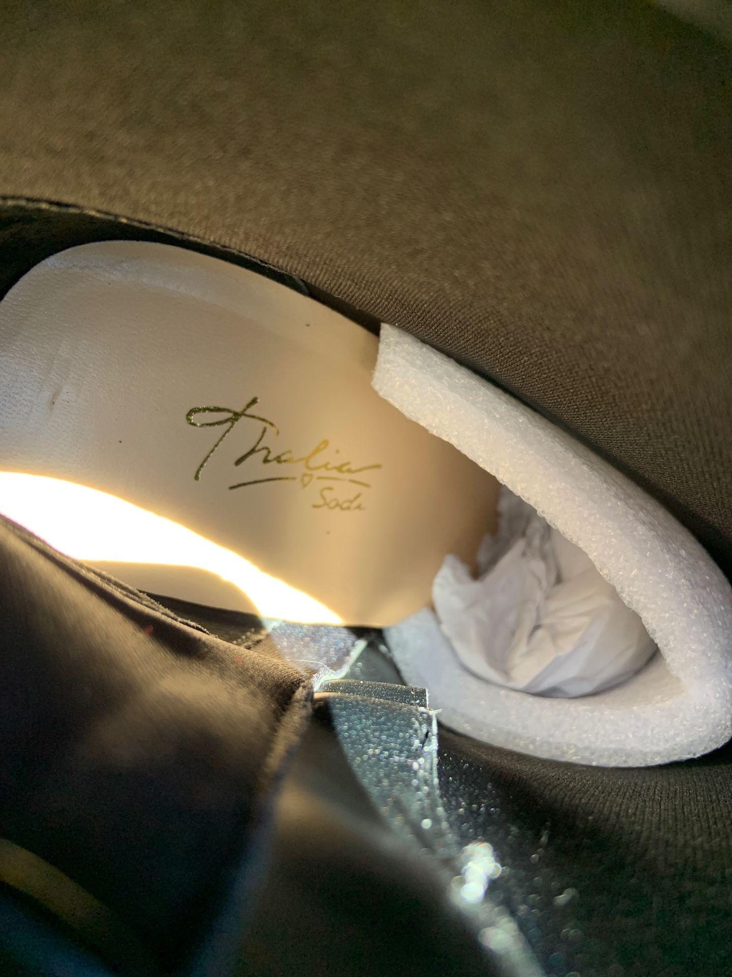 Silver ladies dress shoes