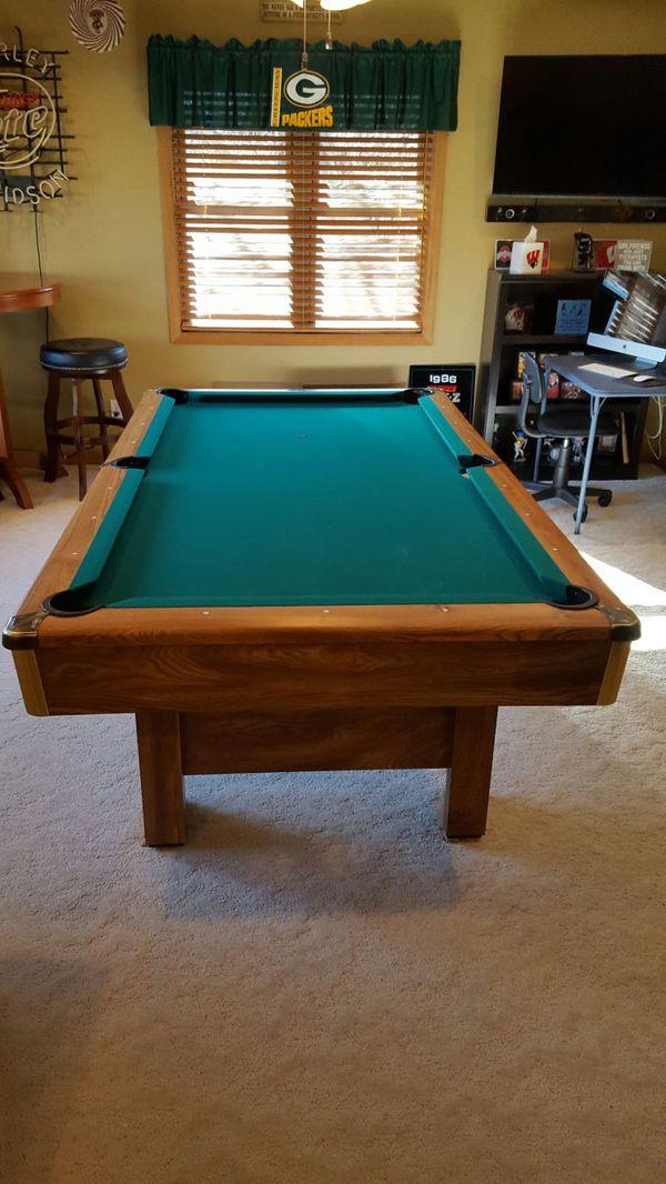 Ft Brunswick Buckingham Pool Table Set Up Available For Sale In - Brunswick madison pool table