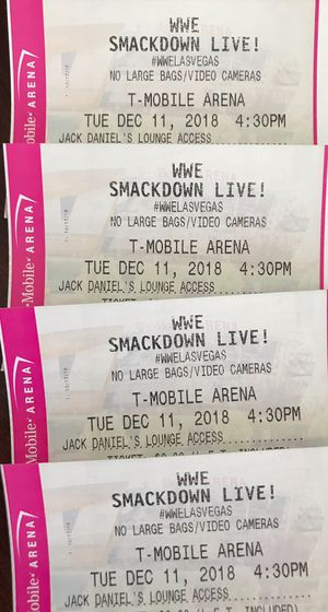 WWE Smackdown Tickets for Sale in Las Vegas, NV