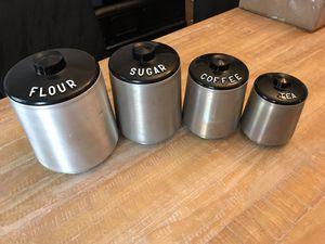 Kromex vintage canister set for Sale in Bordentown, NJ