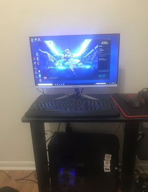 Custom Gaming pc setup for Sale in Pittsburgh, PA