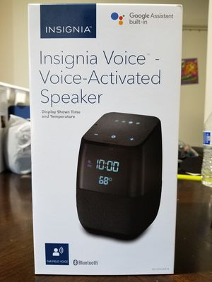 Insignia Google Assistant Voice-Activated Speaker for Sale in Orlando, FL