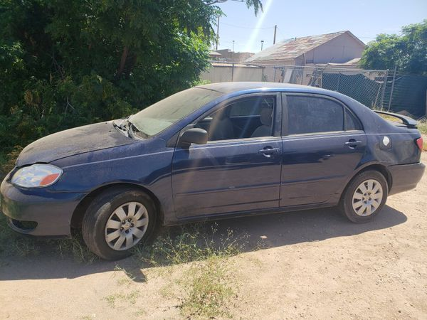 2004 Toyota Corolla And Starter Is Not In Car Replacing Number Messed Up Been A Motor Accident Good Parts On It Text Me For More Details