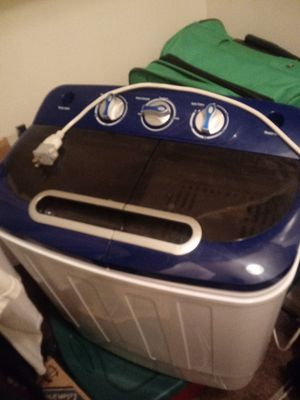 Best choice products. Portable washing machine for Sale in Indianapolis, IN