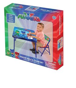 Kids table with chair for tjmasks Thumbnail