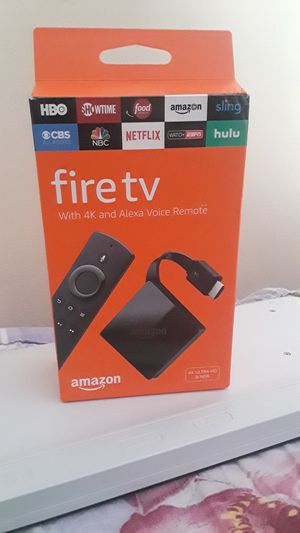 4k FIRE TV. ULTRA HD for Sale in Herndon, VA
