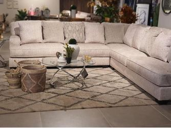 Radcliffe Parchment Modular Sectional (Sofa & couch, living room) Thumbnail