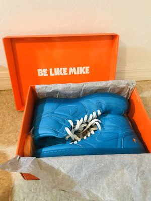 Photo BRAND NEW Jordan 1 BLUE GATORADES