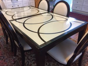 Dining set table with 6 chairs and Buffet table for Sale in West Springfield, VA