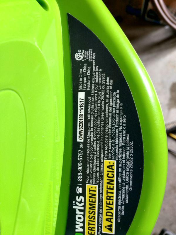 Greenworks 40v Cordless Blower For Sale In Fresno Ca