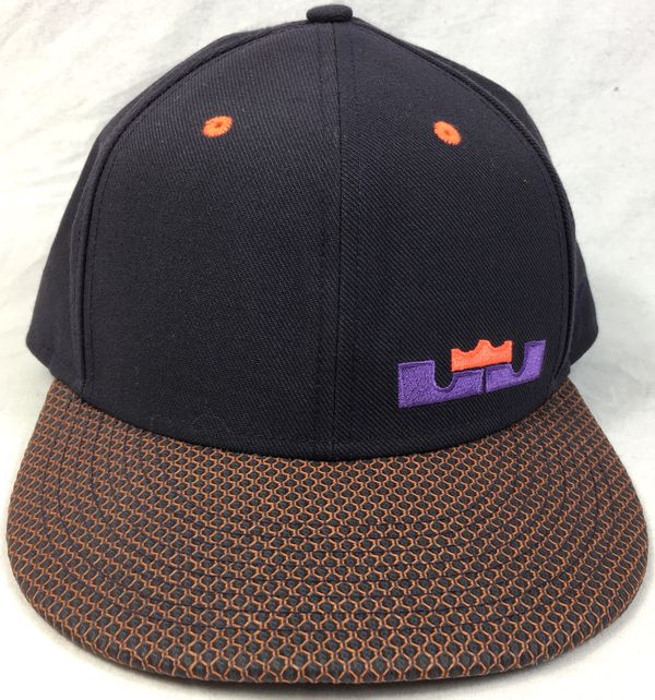 3d41470ae013e Nike True Lebron James Purple Orange SnapBack Hat for Sale in Santa ...