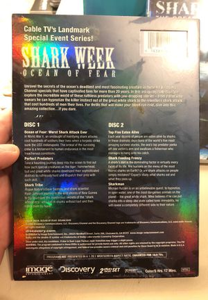 Shark week DVD collections for Sale in Martinsburg, WV