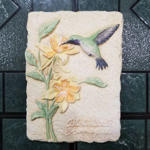 Set of 3 Decorative Ceramic Plaques - Hummingbirds for Sale in Pittsburgh, PA