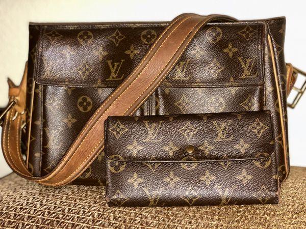 3e7c1fd80933 Authentic Louis Vuitton Viva Cite GM Purse and Tresor Long Wallet ...