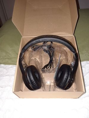 Wireless Bluetooth Headphones Black for Sale in Frederick, MD