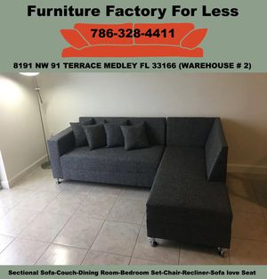 Sectional sofa couches new for Sale in Miami Springs, FL