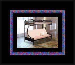 Twin futon bunkbed frame for Sale in Glenarden, MD
