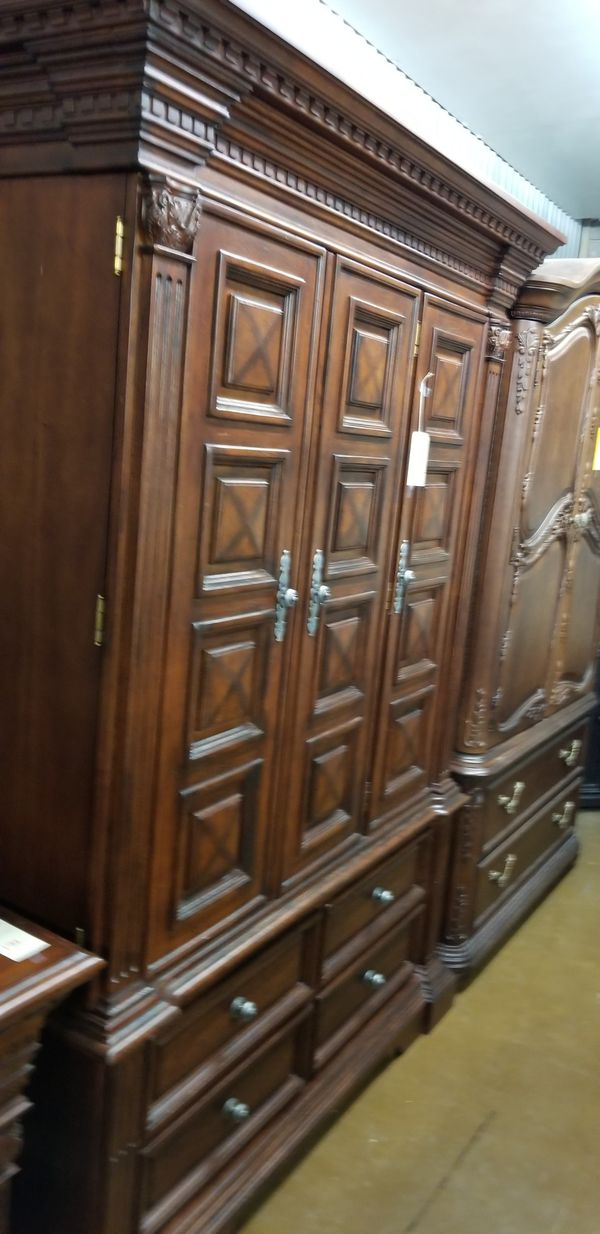 Large Armoire Cabinet We Are Located At 2811 E Bell Rd In The Front Building J K Furniture Another Time Around