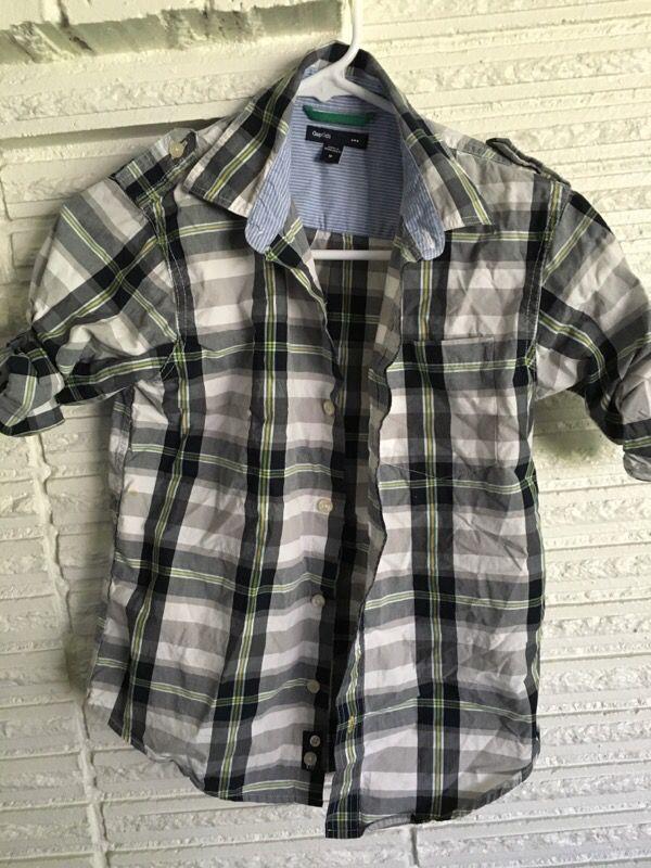 Gap boys dress shirt