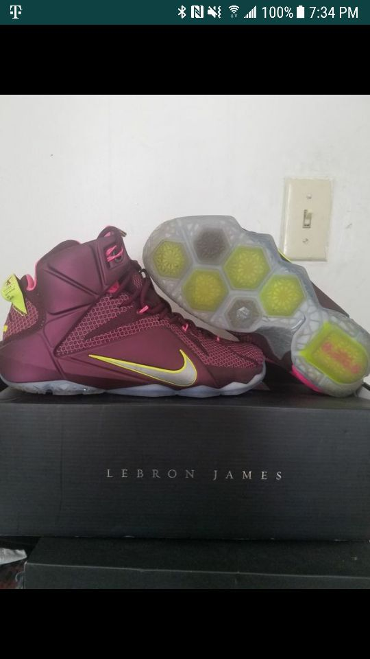 new styles c1597 bb2ff Lebron 12 double helix size 9 for Sale in Allentown, PA - OfferUp