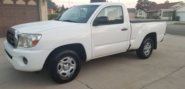 2007 Toyota Tacoma Pickup 4 Cyl 5 Spd A C Runs Great 30 Mpg Cars Trucks In Bellflower Ca Offerup