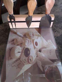 Cheese board and tools Thumbnail
