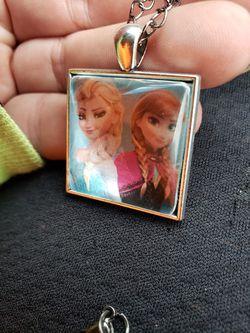 Custom Cabochon necklaces/earrings set Thumbnail