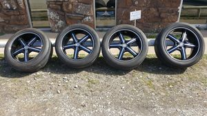 Used, New U2 RIMS AND TIRES 20's for sale  Tulsa, OK