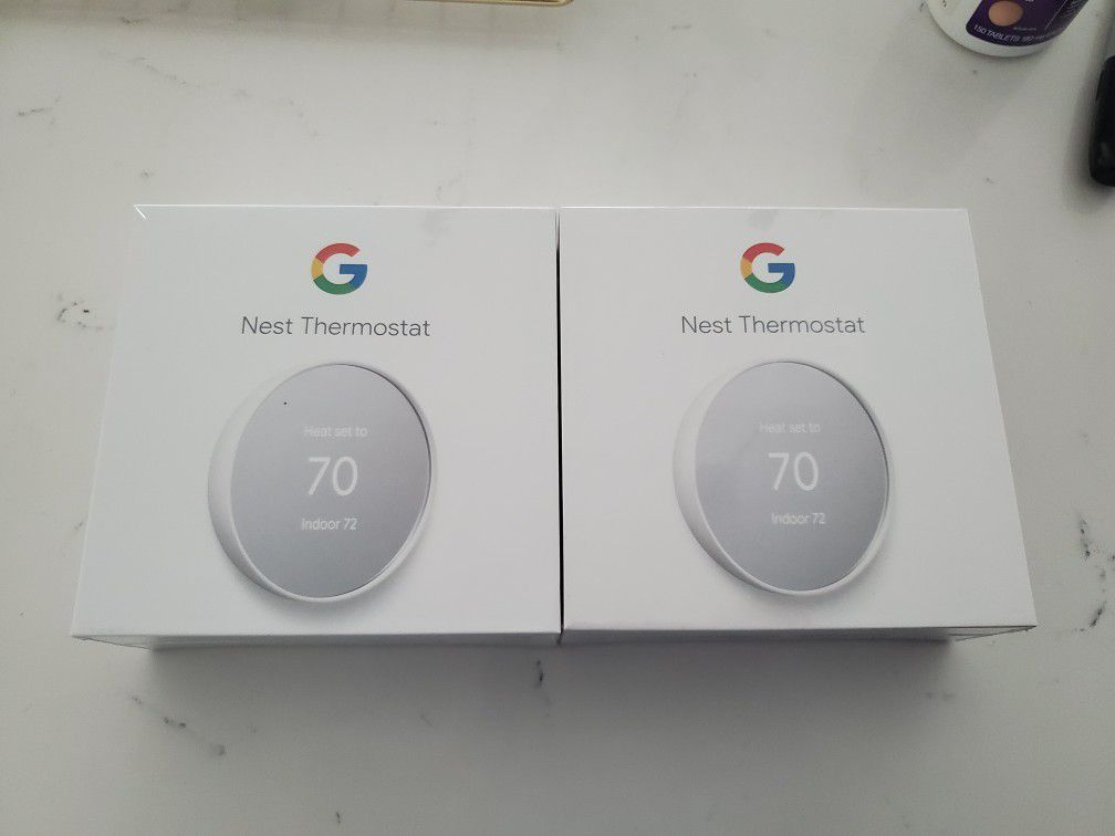 Google Nest Thermostat Snow Edition